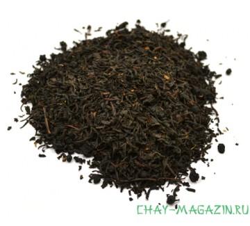 Черный чай Черника и Сливки