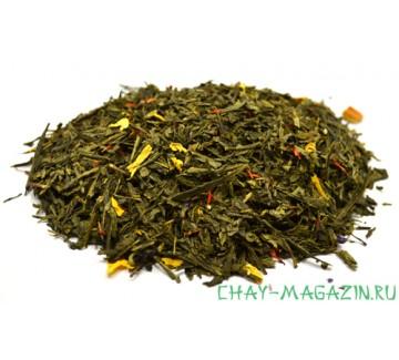 Зеленый чай Корица и Апельсин