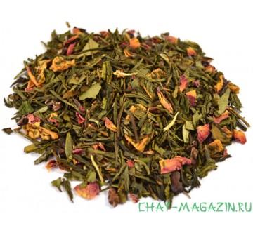 Зеленый чай Яблочный Трюфель