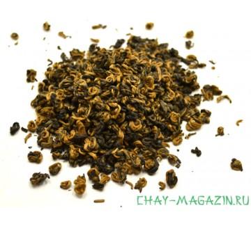 Красный чай Хуан Цзин Луо (Золотые спирали)